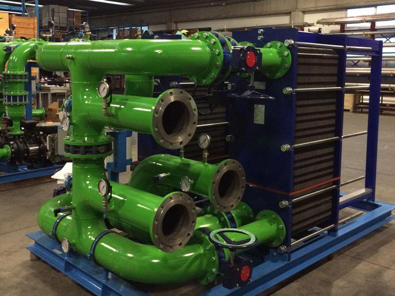 Impianto idraulico assemblato